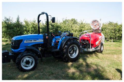 Solis 75N Traktor mit Spritze