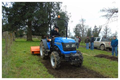 Solis 90N Traktor mit Mulcher